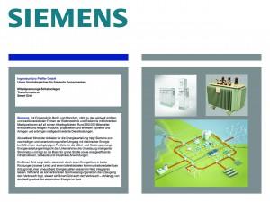 Unser Partner Siemens