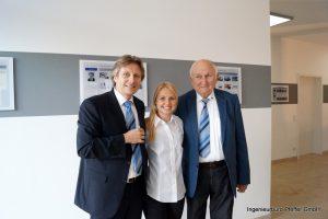 Matthias, Sophia, Fritz Pfeffer
